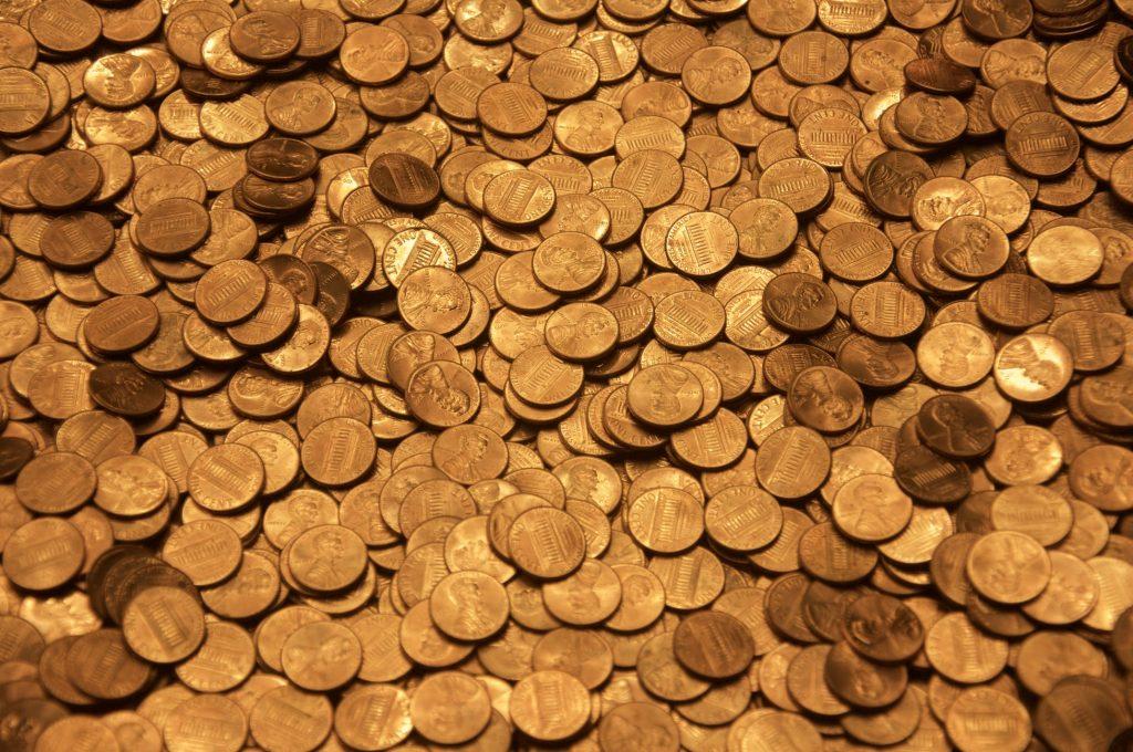 Tesoro monedas oro