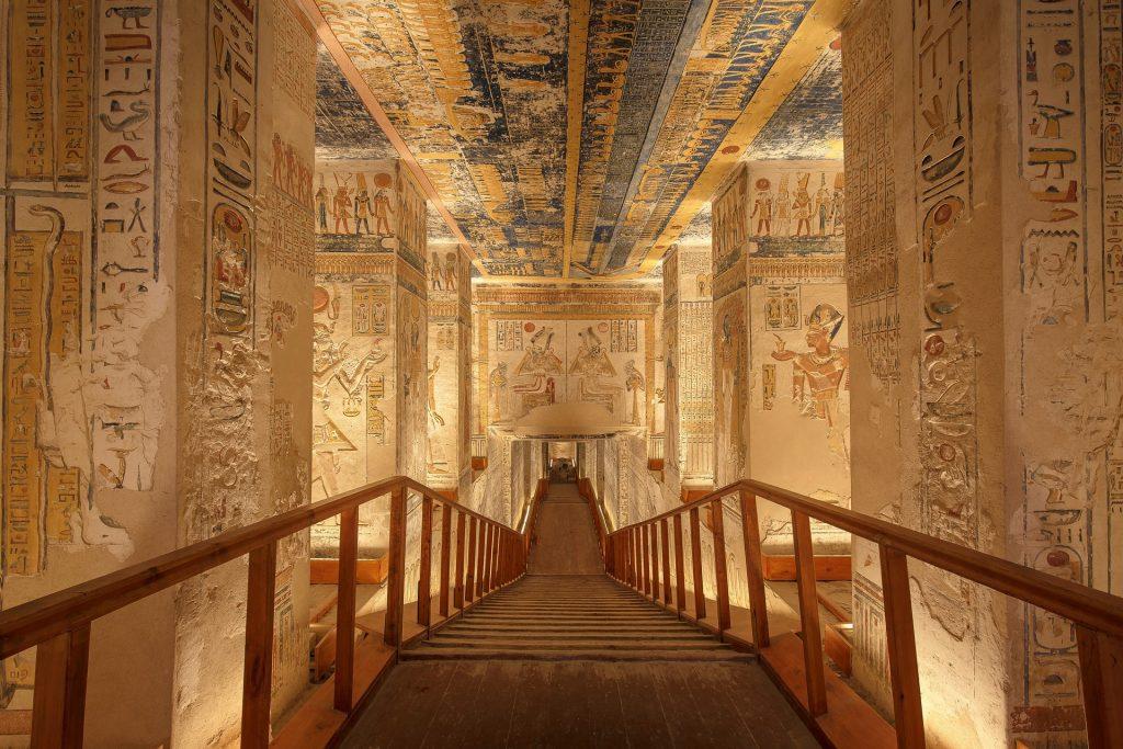 Egipto 13 sarcófagos