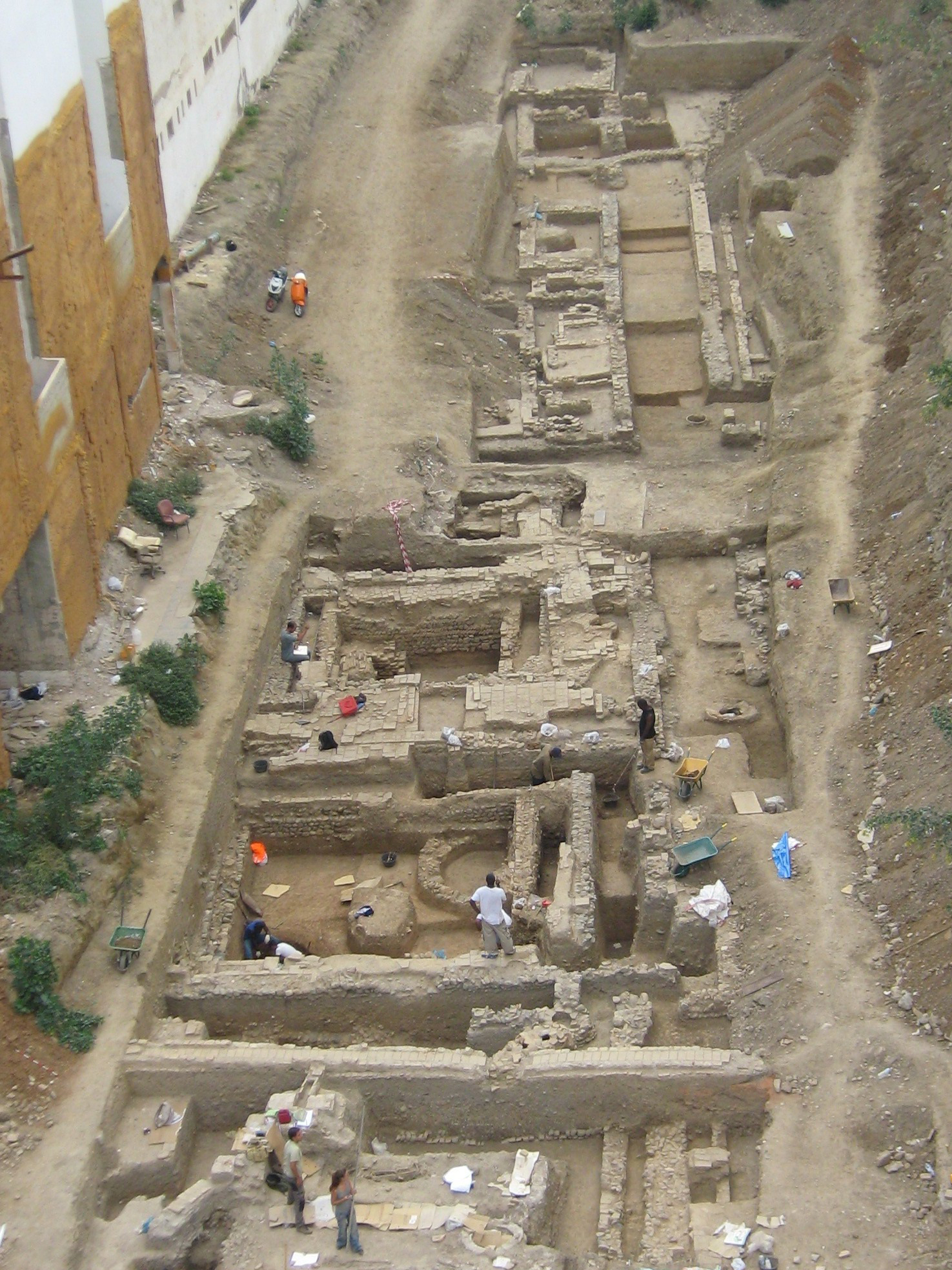 Excavación Nerea Arqueología